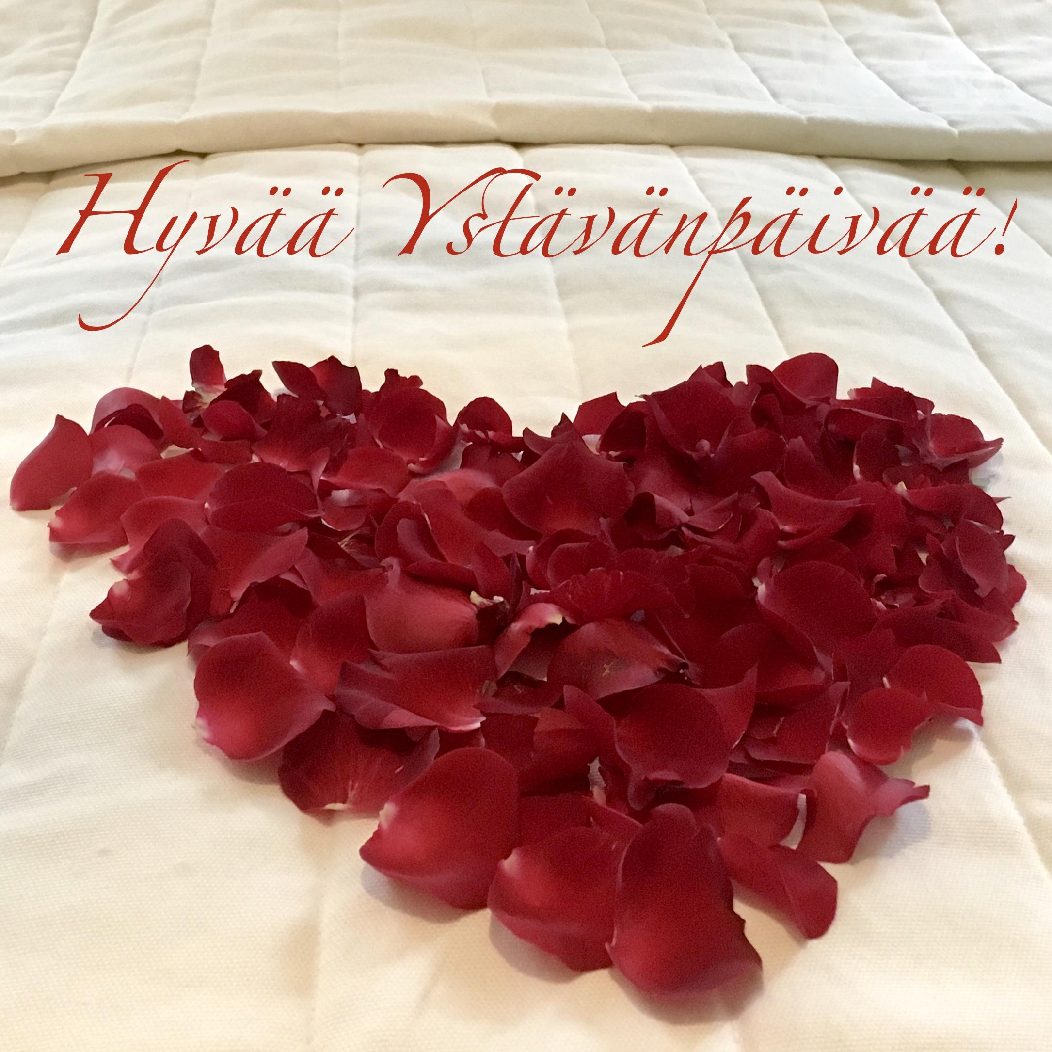Hyvää Ystävänpäivää! Happy Valentines Day!   Hunajakoto